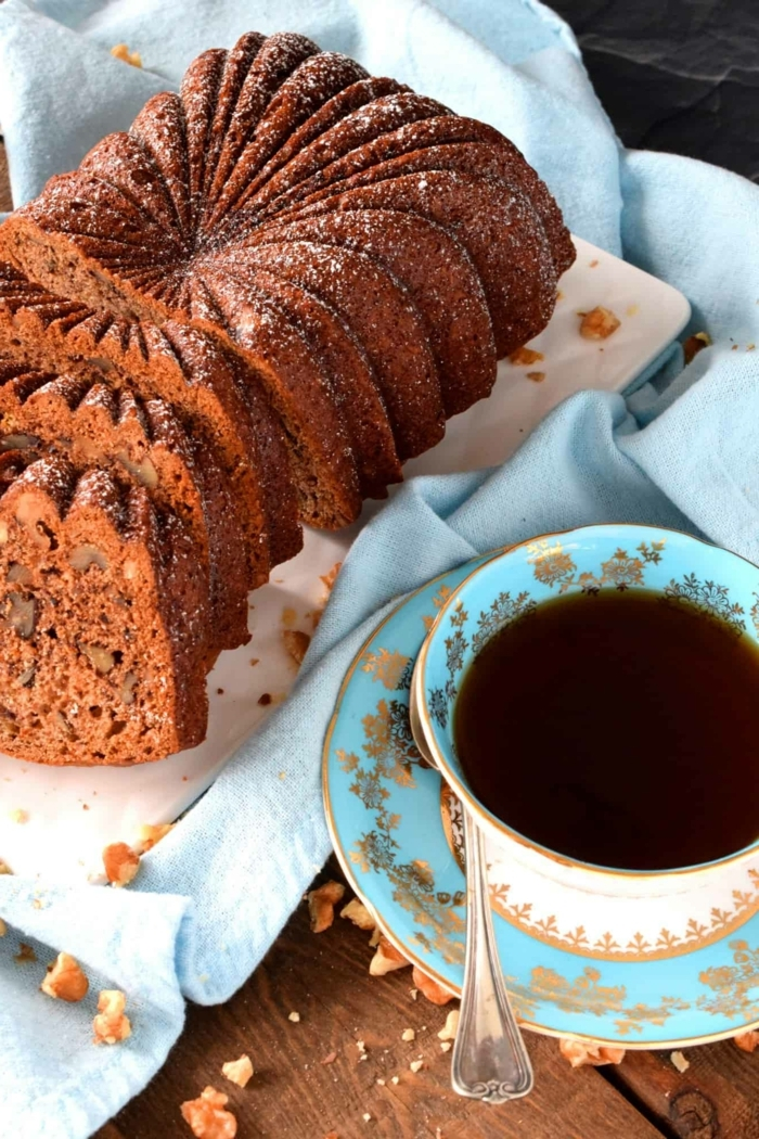 0 bananenbrot rezept brunch ideen kuchen mit kakao bananen und nüssen banana bread backrezepte