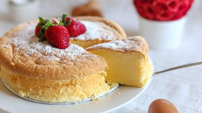 0 käsekuchen ohne boden selber machen dessert rezepte leckerer cheesecake backen
