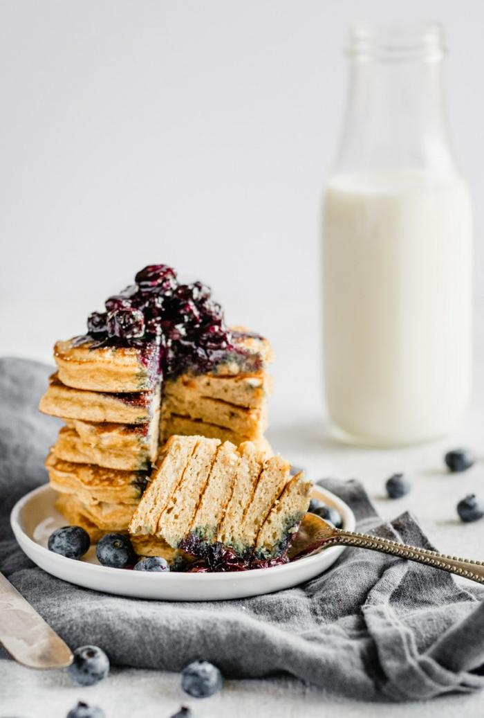 0 pfannkuchen rezept einfach und schnell die besten ideen leckere kuchen mit blaubeer marmelade was kann ich frühstücken