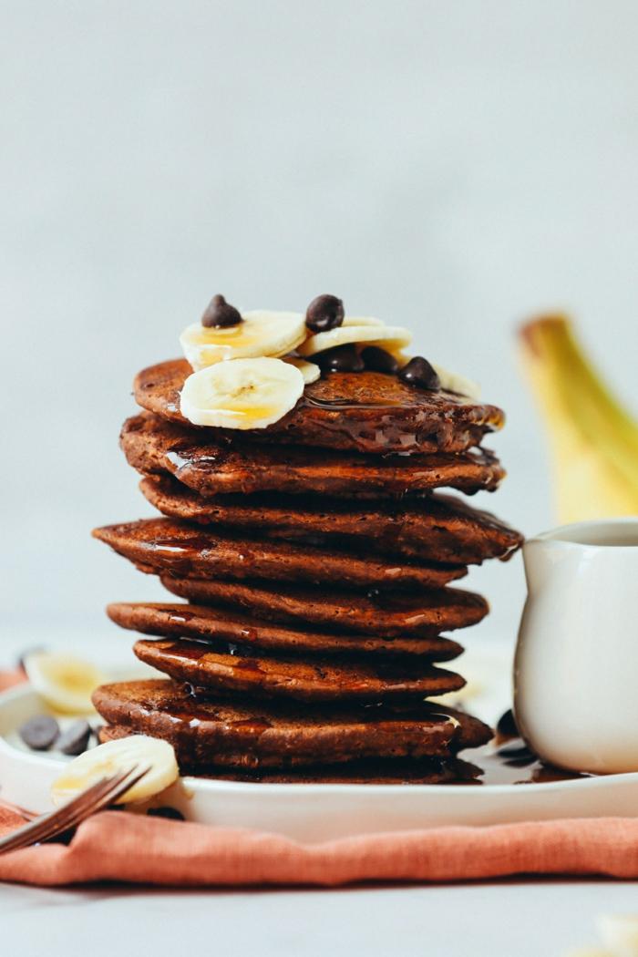 0 pfannkuchen rezept einfach und schnell leckere kuchen mit schokolade und banane brunch ideen