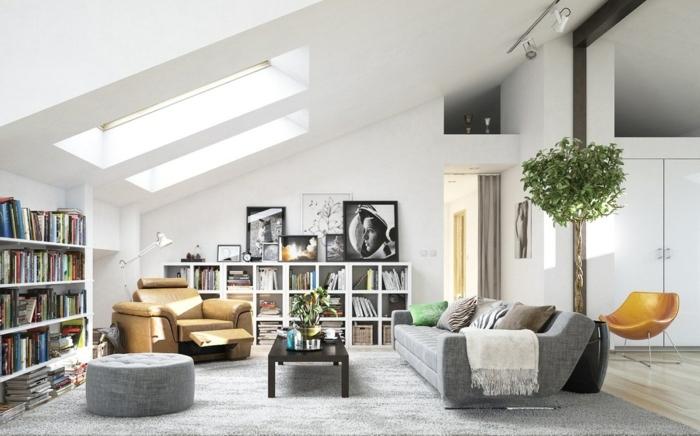 0 wandfarben ideen wohnzimmer gestalten wohnung einrichten weiße wände graue sitzmöbel zimmereinrichtung zimmer streichen