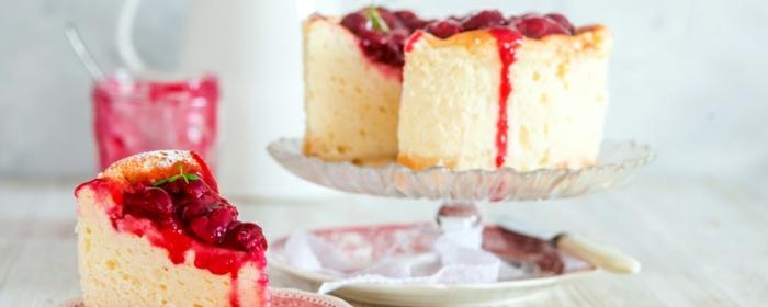 1 käsekuchen ohne boden ohne puddingpulver cheesecake rezepte einfach dessert aus wenigen zutaten torte mit erdbeeren