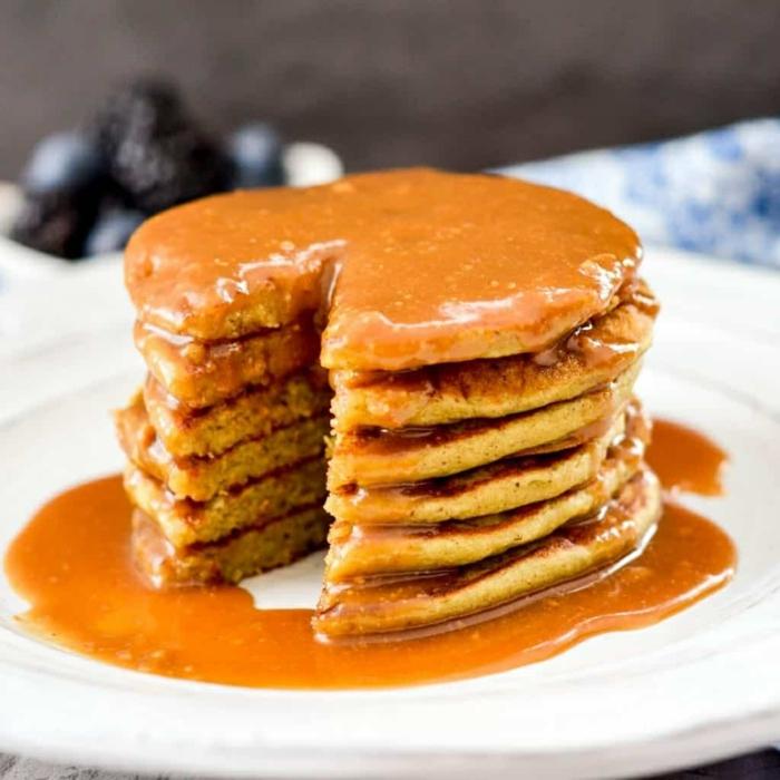 1 pfannkuchenteig rezept mit zimt und honig leckere frühstücksideen frühstück brunch einfach und schnell