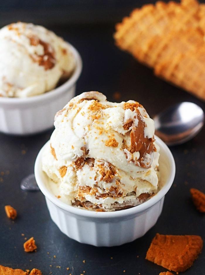 1 rezepte zum vorbereiten einen tag vorher biscoff eiscreme selber machen leckerer nachtishc für den sommer sommerezepte einfach