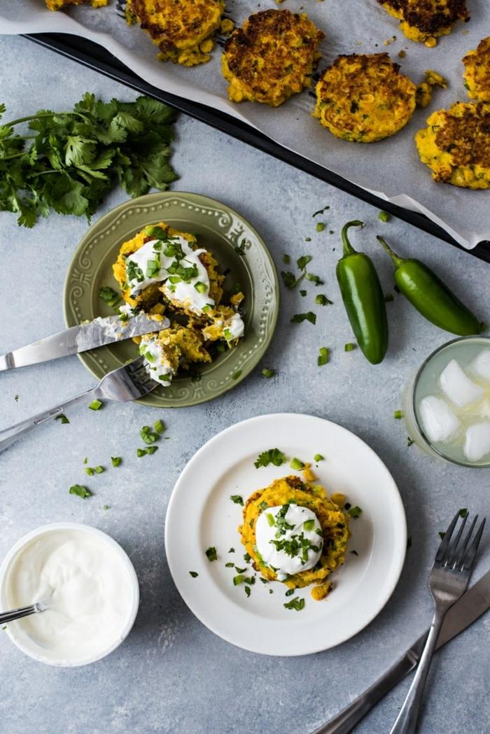 3 rezept für pfannkuchen mit mais und jalapeno saltige kuchen mexikanisches frühstück ideen