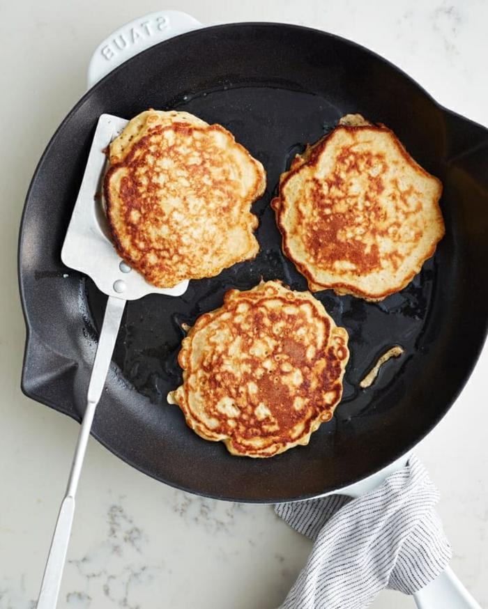 3 rezept für pfannkuchen pfannkuchenteig mit haferflocken gesund frühstücken brunch ideen