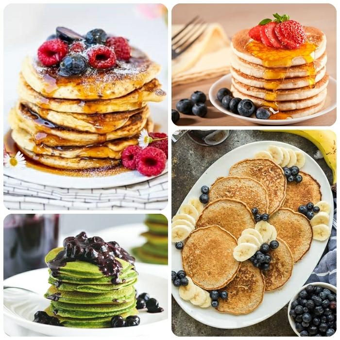 4 einfaches pfannkuchen rezept die besten ideen pfannkuchenteig mit matcha brunch ideen