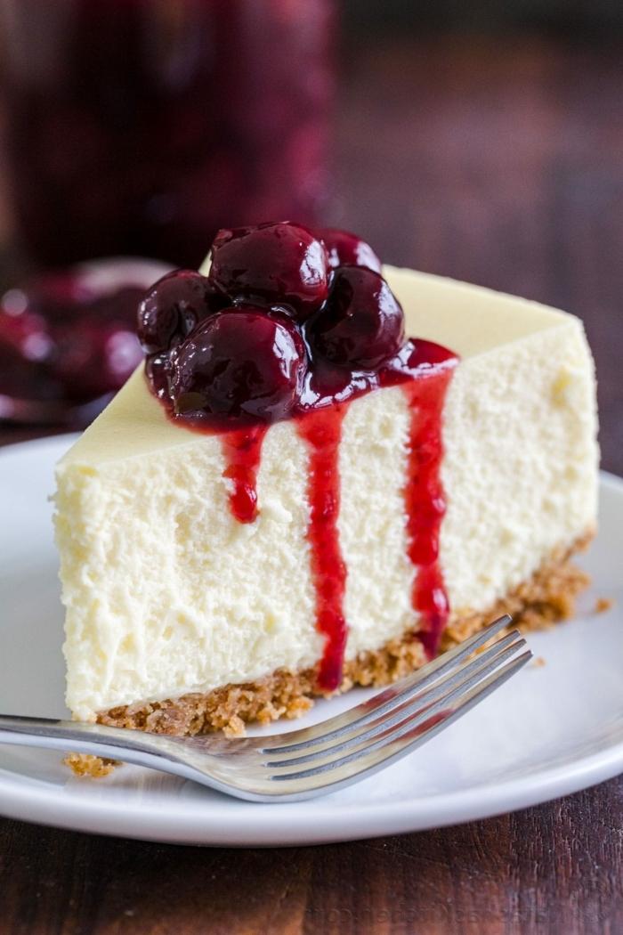 4 schnelle partyrezepte zum vorbereiten cheesecake rezept mit kirschmarmelade leckerer nachtisch ohne backen