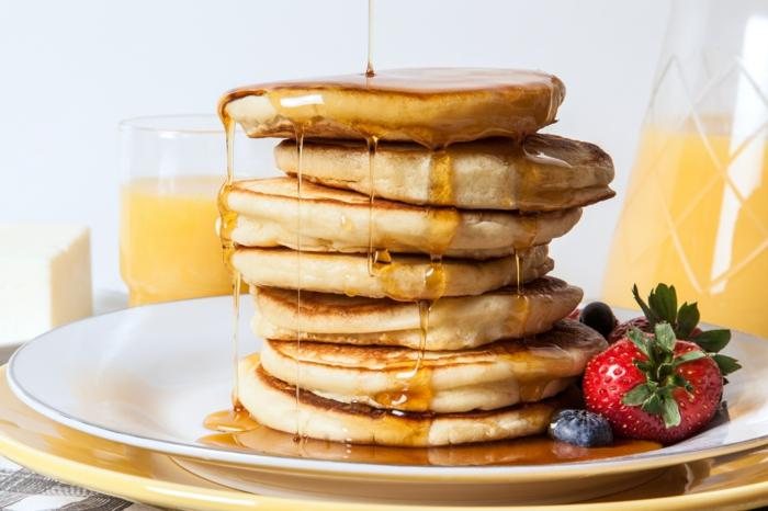 5 pfannkuchen rezept 2 personen leckere brunch ideen amerikanischer pfannkuchenteig