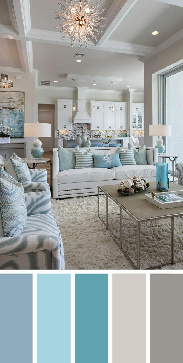 5 wohnzimmer streichen ideen moderne wandfarben fürs zimmer wohnung einrichten farbschema auswählen