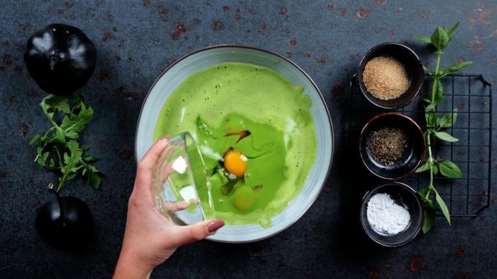 6 pfannkuchen selber machen schnelle backrezepte halloween rezepte grüne pancakes