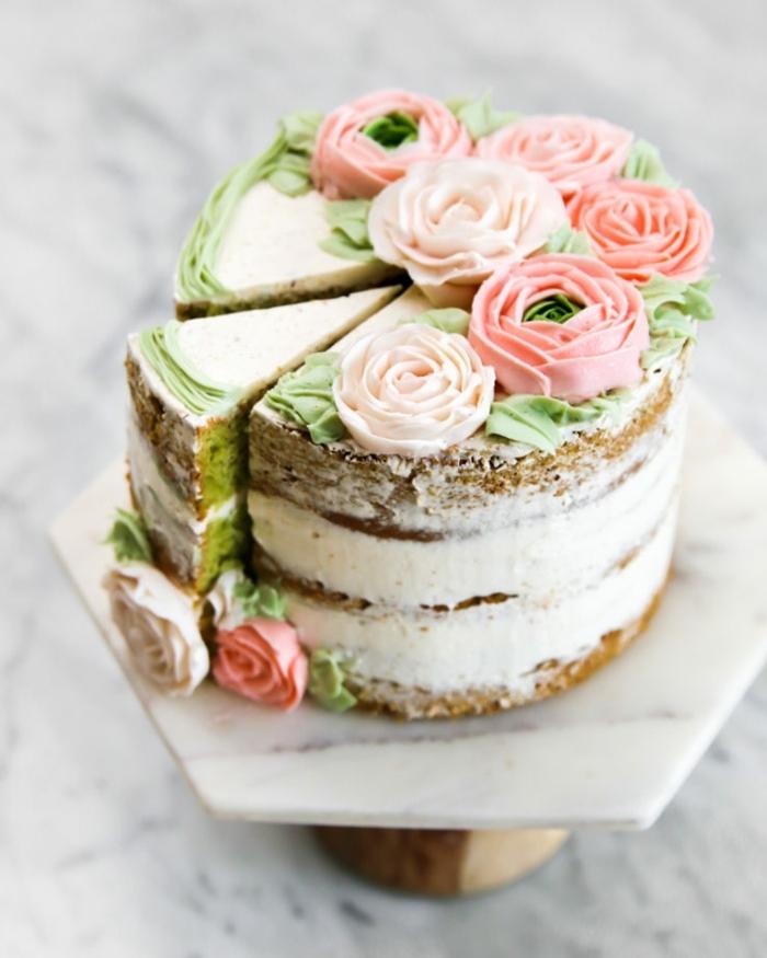 6 schnelle kuchen für kindergeburtstag leckerer geburtstagskuchen kuchen dekorieren naked cake blumen