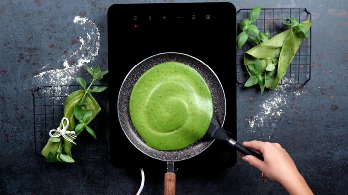 8 pfannkuchen selber machen schnelle rezepte zum halloween kinderparty essen ideen grüne pancakes