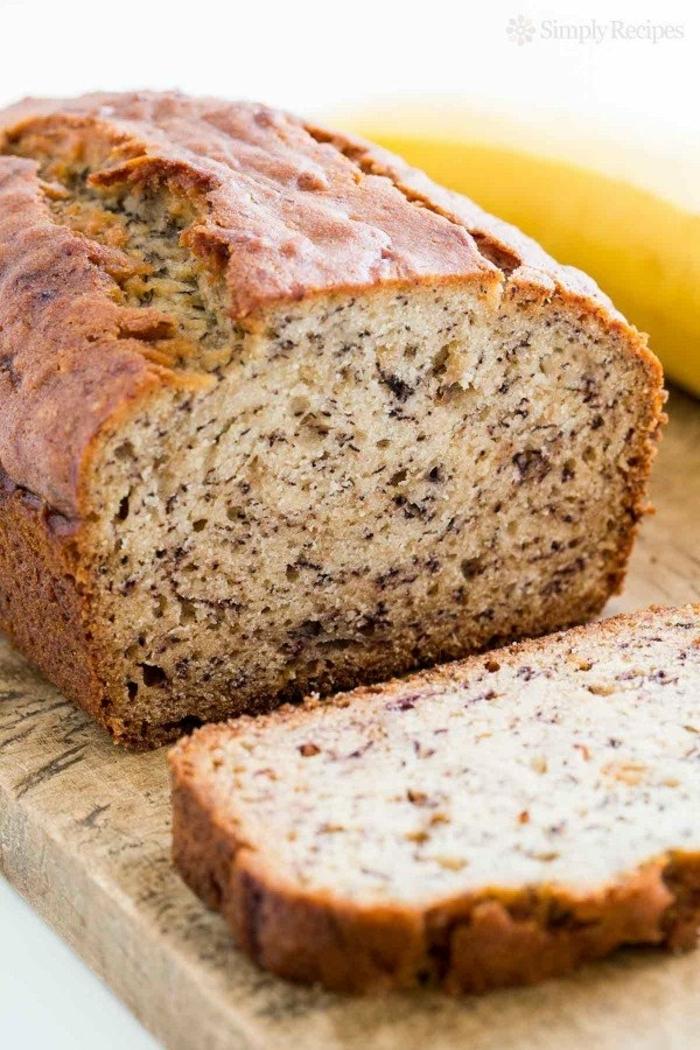 bananenbrot ohne ei banana bread selber machen bananenkuchen mit walnüssen