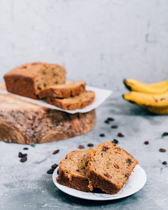 bananenbrot ohne ei leckere bananenbrotrezepte rezepte mit bananen banaenkuchen mit schokoladenchips