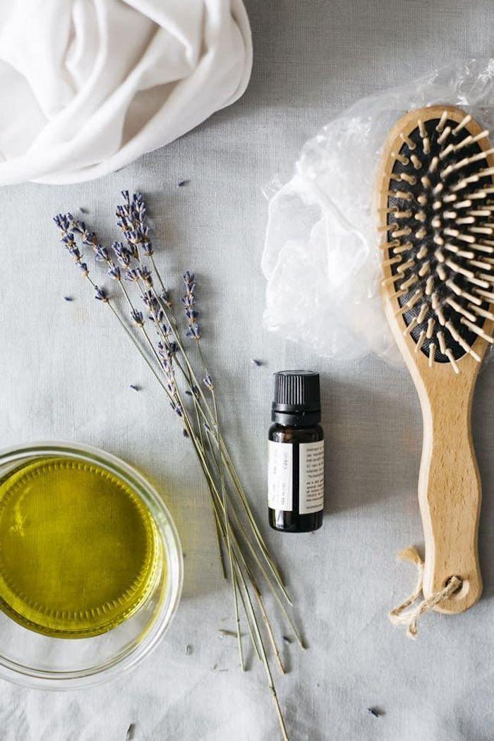 basilikum extrakt für haare selber machen wie benutzt man eine haarmaske richtig diy haarkur leichte rezepte