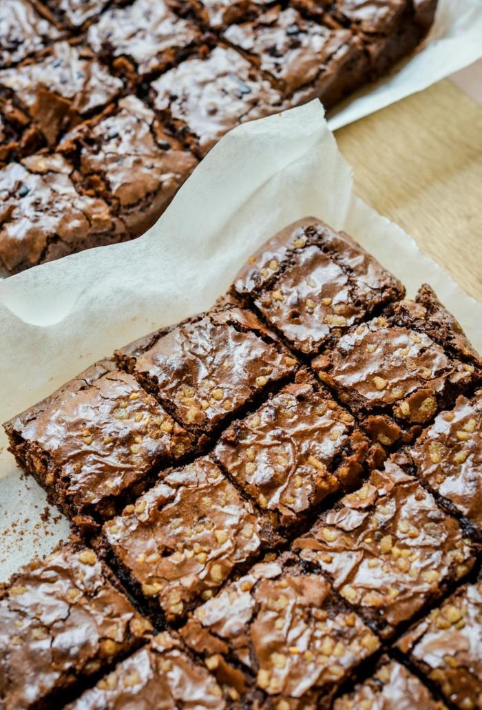 brownie kuchen schokoladenkuchen kaffee oder tee sonntagkuchen einfach und schnell backen mit wenig zutaten