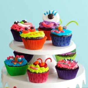 Lustige Muffins für Kindergeburtstag - leckere Ideen