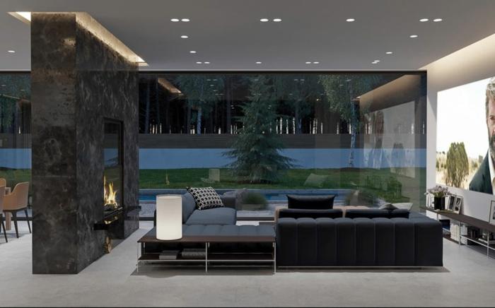 farben für wohnzimmer lururiöse einrichtung designer möbel wohnungseinrichtung zimmer gestalten modern wandfarbe trend 2020