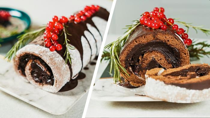 gesunde backrezepte zu weihnachten weihnachtlicher nachtisch buche de noeal rezept von archzine studio