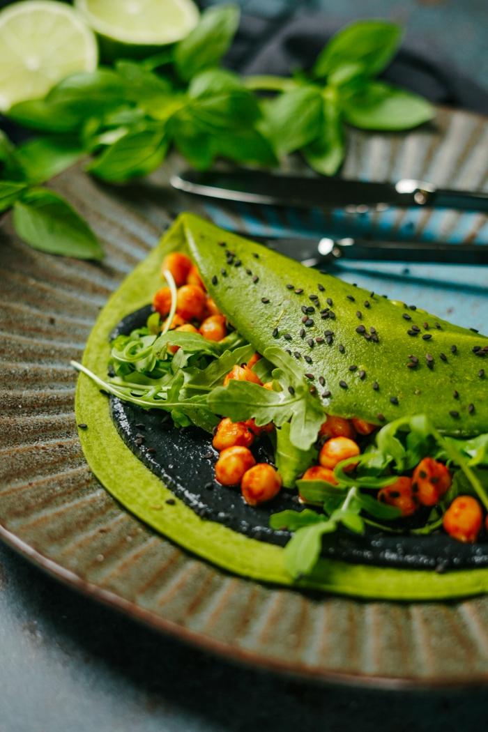 grüne pfannkuchen selber backen leckere backrezepte halloween essen ideen green pancakes