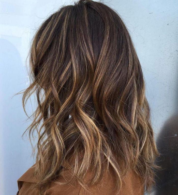 Strähnchen blonde dunkelbraune haare guartyportio: Braune
