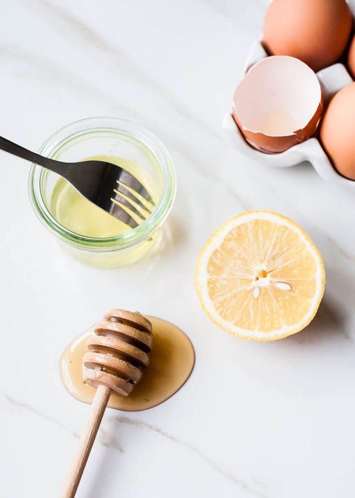 haarkur mit ei und honig was hilft am besten gegen trockene haare haarmaske selber machen mit ei