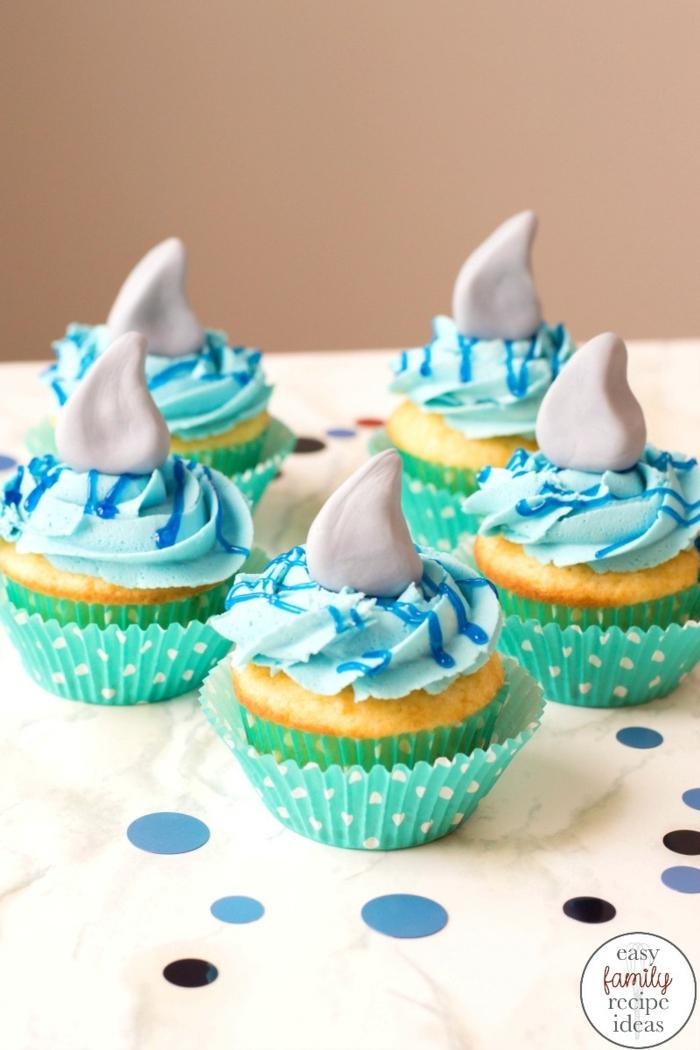 haie cupcakes kindergeburtstag lustige muffins backen geburtstagsfeier leckere rezepte zum backen