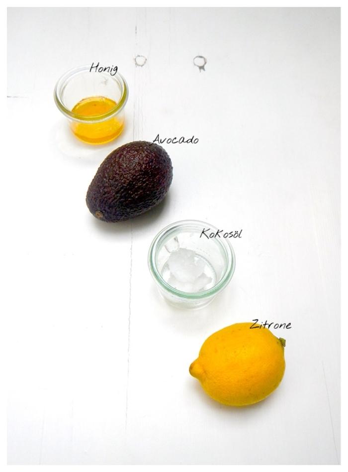 ideen für avocado haarmaske mit honig kokosöl und zitronensaft rezepte für schöne und geschmeidige haare