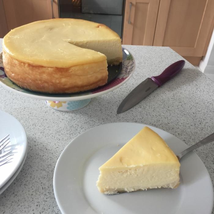 käsekuchen ohne boden mit puddingpulver cheesecake backen nachtisch für gäste philadelphia torte