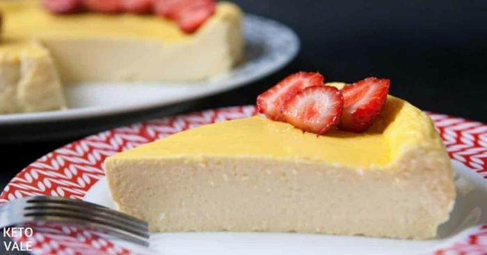 käsekuchen ohne boden mit puddingpulver cheesecake rezept mit erdbeeren vanilletorte vanillekuchen