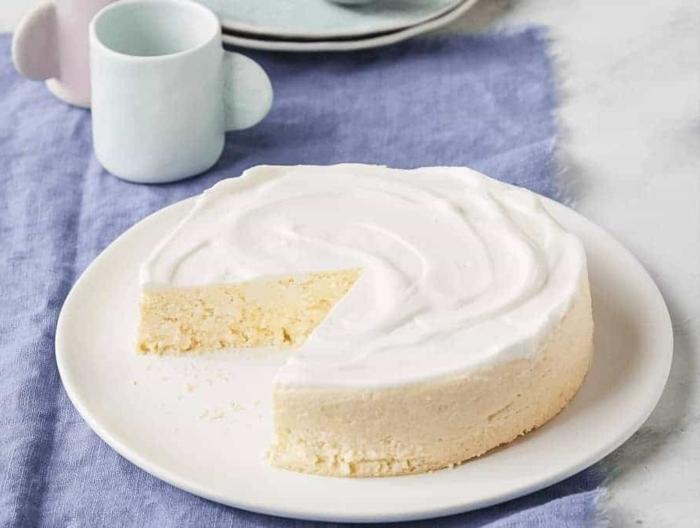 käsekuchen ohne boden mit puddingpulver schneller nachtisch frischkäsekuchen selber machen dessert mit vanille