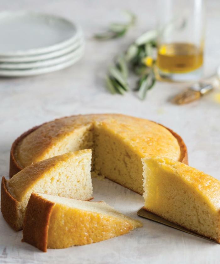 klassischer olivenölkuchen kuchen backen schnell und einfach mit wenigen zutaten