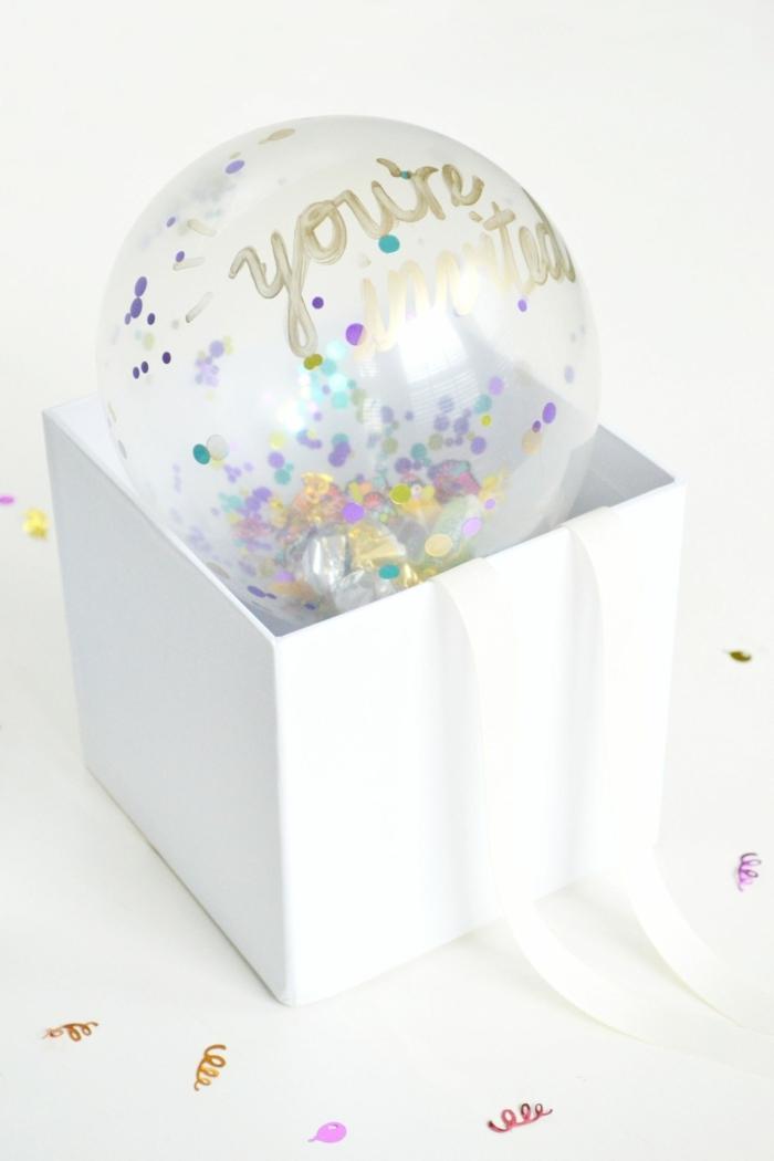 konfetti luftballon einladungskarten 1 geburtstag schritt für schritt anleitung diy ideen und inspiration