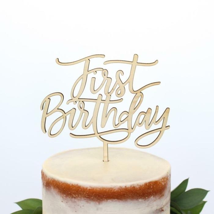kuchen für kinder selber machen tortendeko ideen torten dekorieren tortentopper first birthday