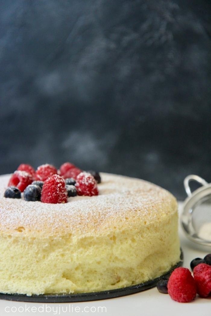 kuchen ohne boden mit grieß vanillekuchen mit frischen früchten leckere backrezepte