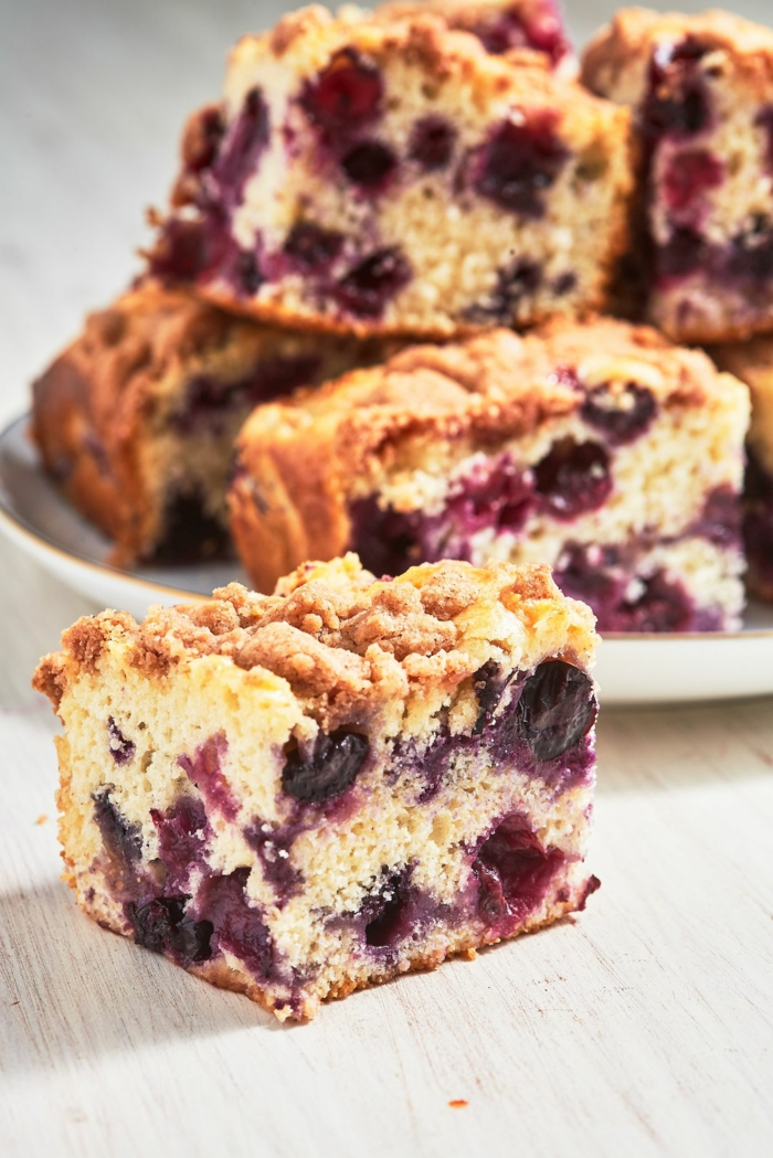 kuchen rezepte einfach und schnell mit wenig zutaten blaubeer schnalle leckere desserts zubereiten