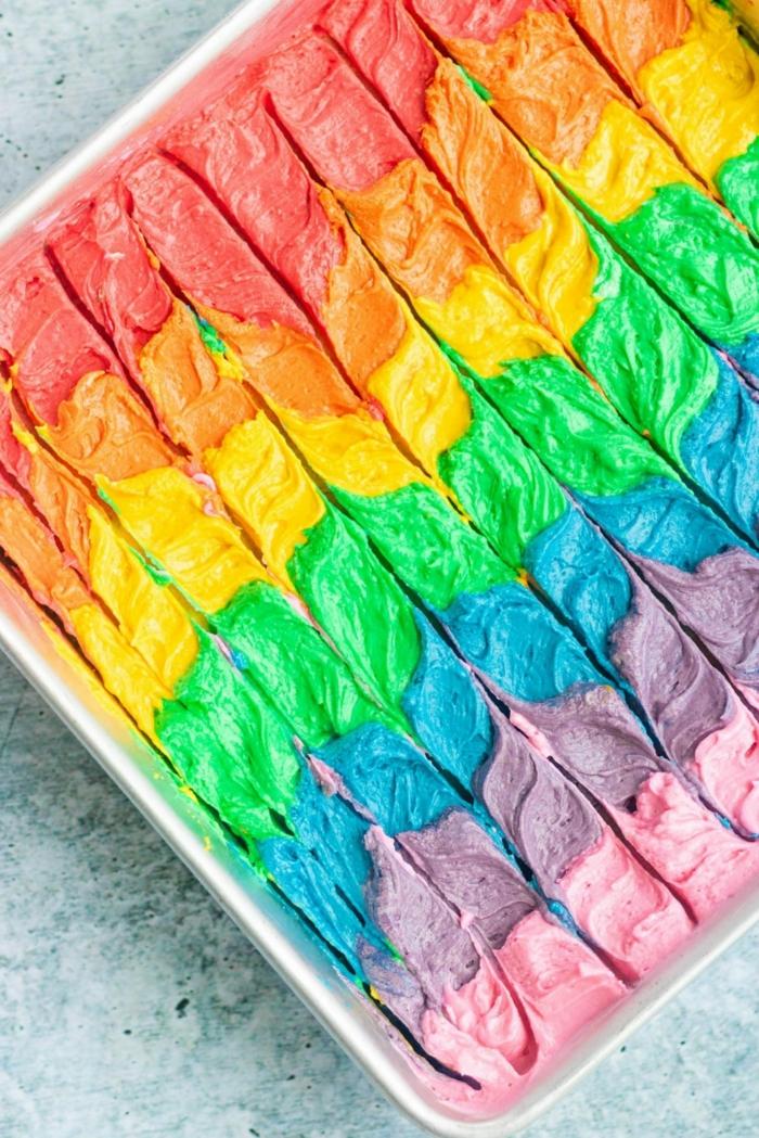 leckere regenbogen rezept torten für kindergeburtstag zum selber machen leckere rezepte und ideen
