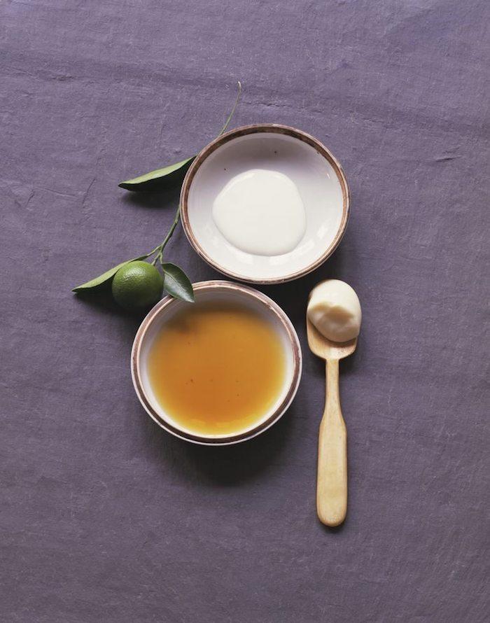 natürliche pflege für die haare mit milch und honig was tun gegen trockene spröde haare naturliche mittel haarmaske