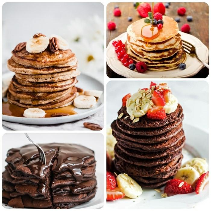 pfannkuchen selber machen die besten rezepte schokokuchen schokopfannkuchen veganes rezept frühstücksideen