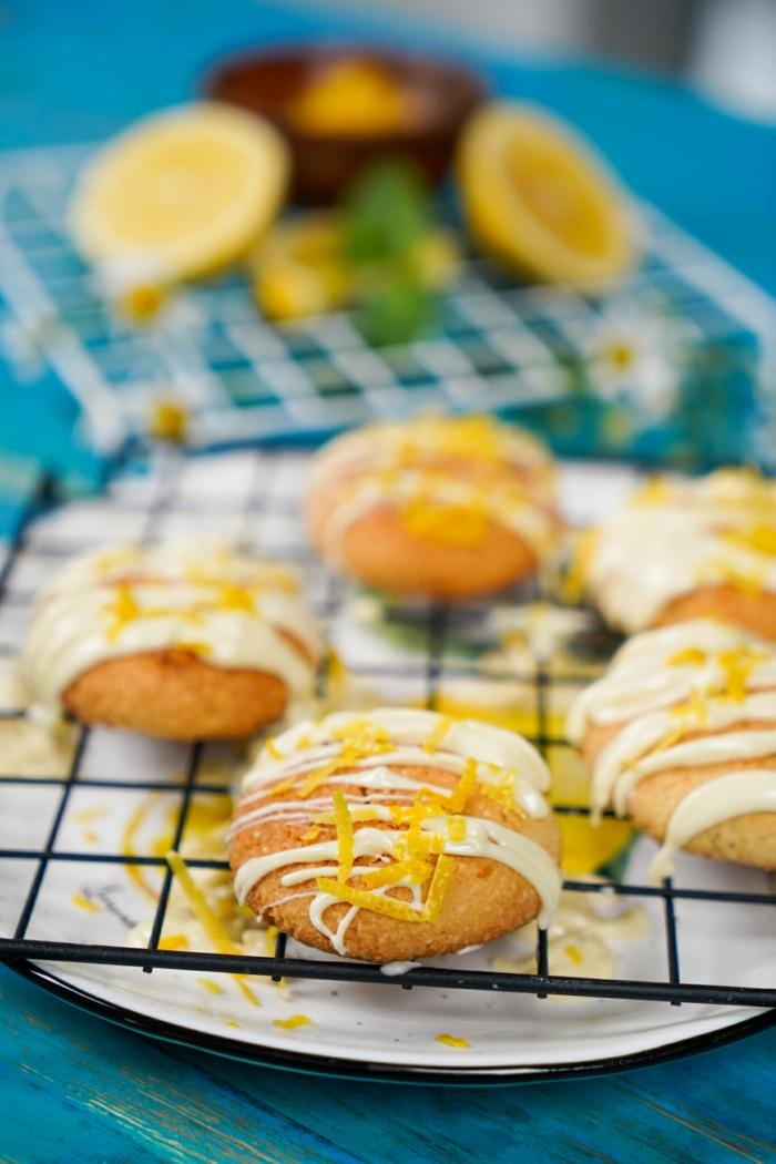 rezepte zum backen einfache backrezepte gesund keto kekse mit zitronen