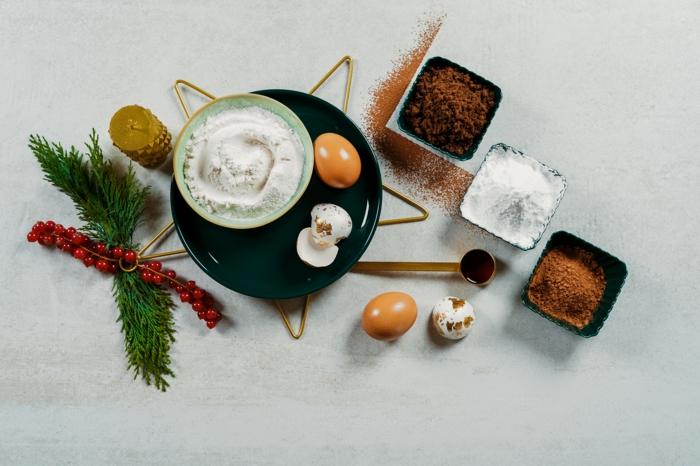 rezepte zum backen gesunde buche de noel selber machen nötige zutaten weihnachtsdessert
