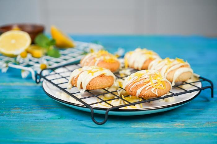 rezepte zum backen schnelle backrezepte keto kekse plätzchen mit zitrone