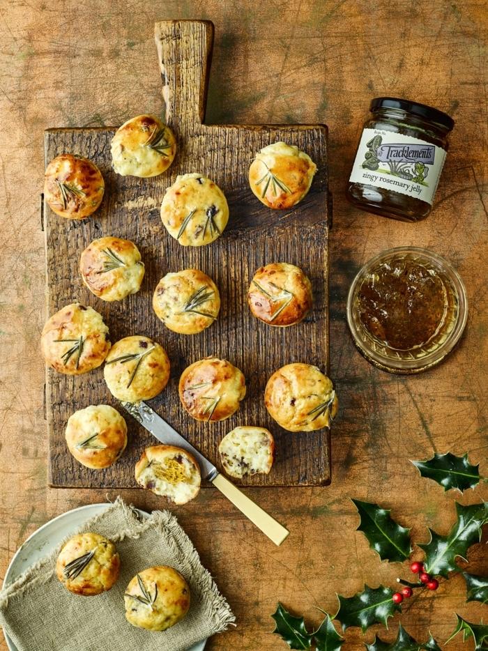 rosmarin mini muffins einfache backrezepte rezepte zum backen leckeres essen