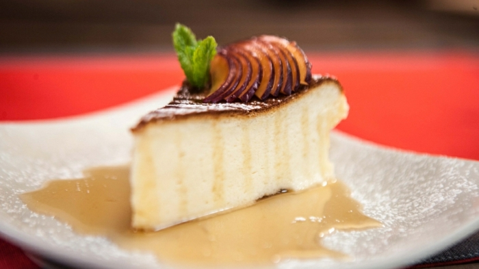 saftiger käsekuchen ohne boden kuchen rezepte cheesecake mit äpfeln apfelkuchen torte