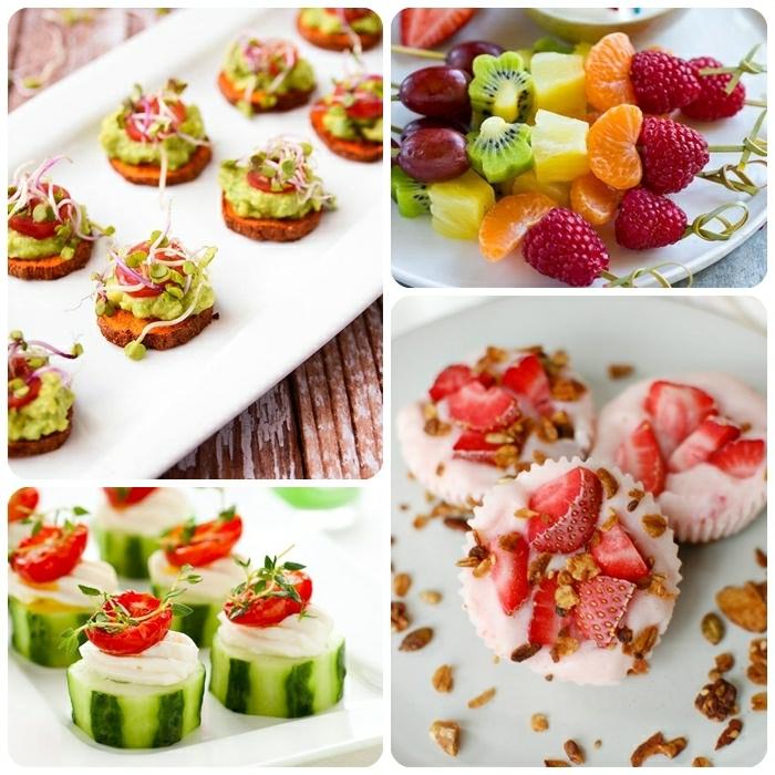 schnelle vegetarische rezepte für jeden tag fingerfood ideen picknickrezepte essen für gäste