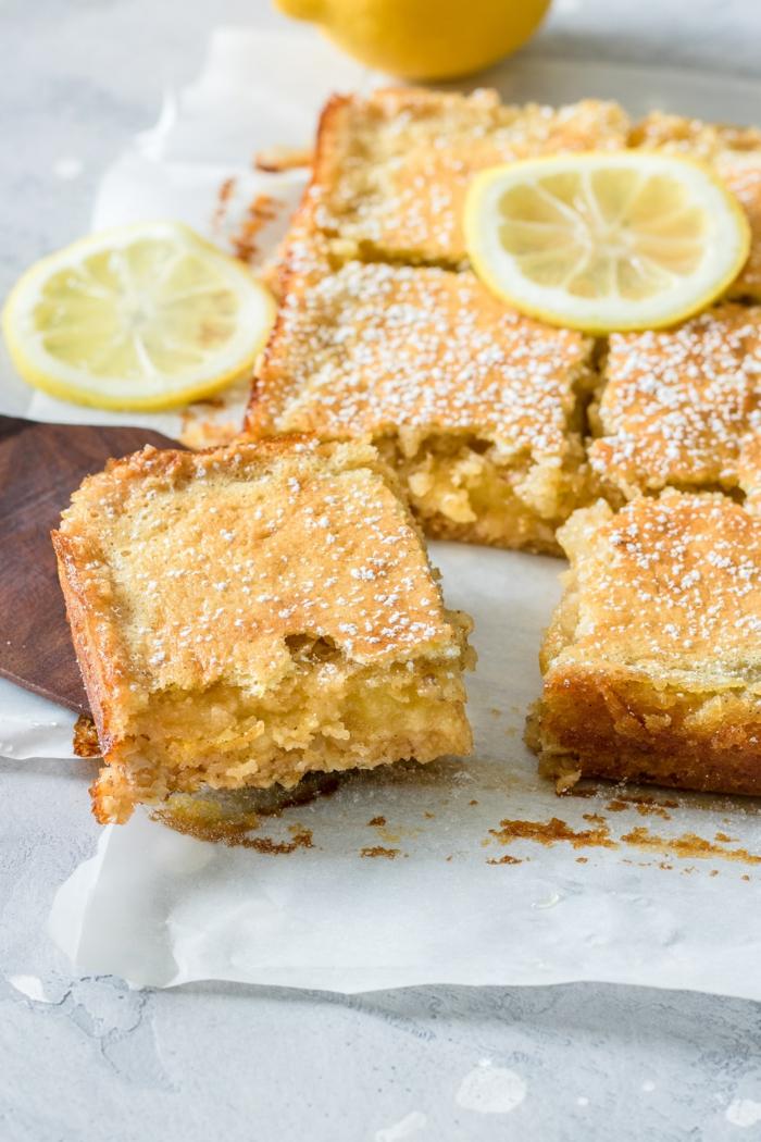 schneller kuchen mit wenig zutaten gesunde desserts zitronenkuchen zubereiten schnell und einfach