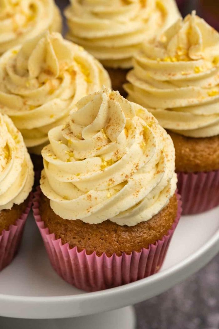 vanille cupcackes kuchen rezepte zum backen einfach und schnell leckere desserts zubereiten