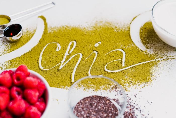 vegetarische partarezepte zum pvorbereiten rezepte mit chia samen gesund essen einfacher nachtisch