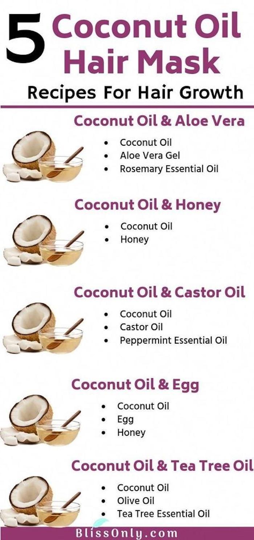 vorteile von kokosöl haare diy masken mit kokosnussöl mit aloe vera honig ei teebaumöl nahrhafte haarmasken